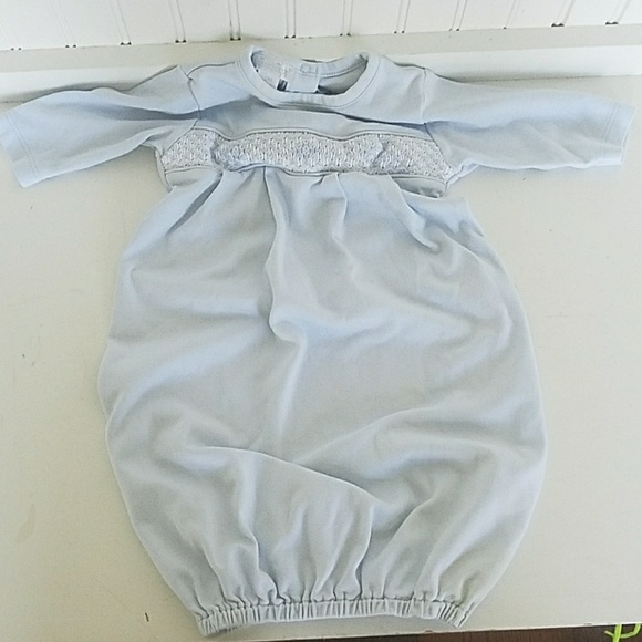 Kissy Kissy One Pieces | Boutique Newborn Smocked Gown | Poshmark